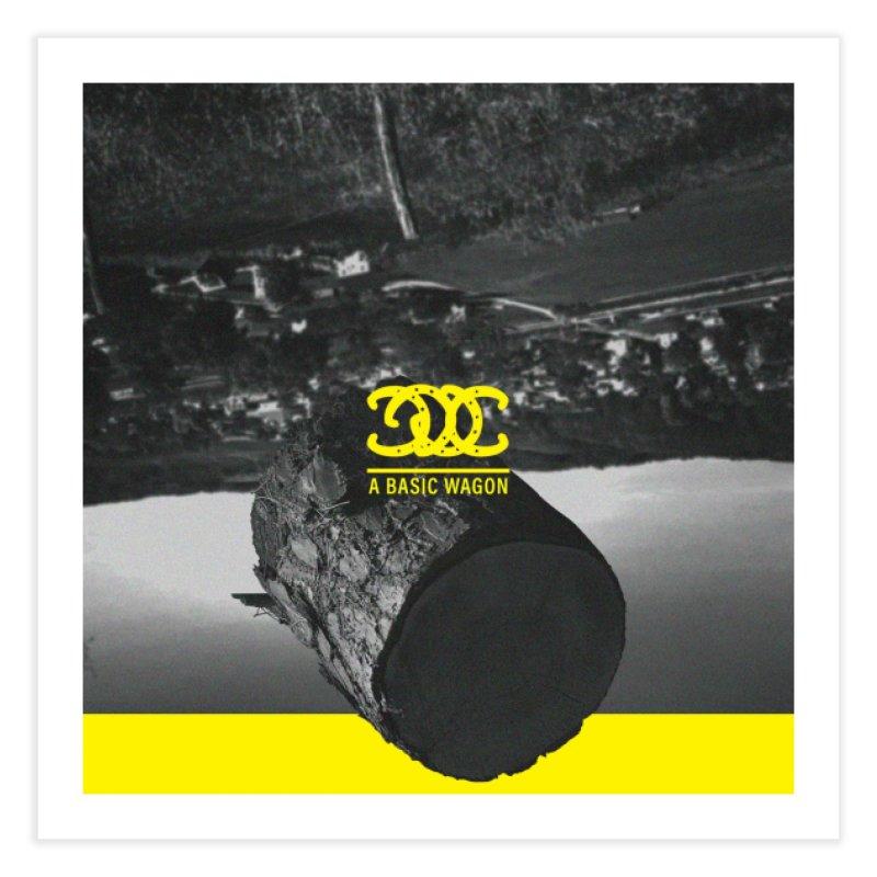 A Basic Wagon (Album Cover) Home Fine Art Print by iffopotamus
