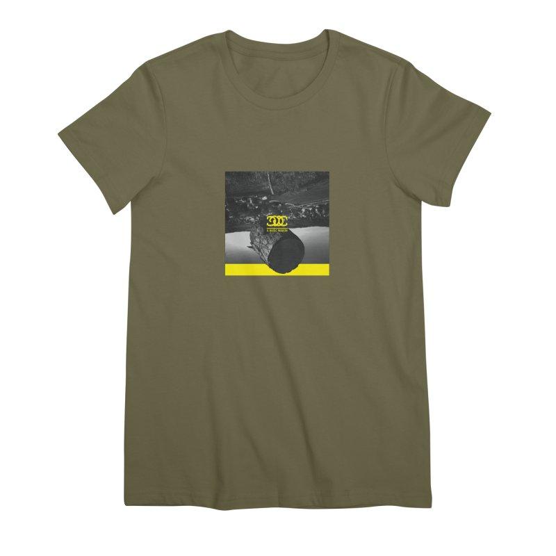 A Basic Wagon (Album Cover) Women's Premium T-Shirt by iffopotamus