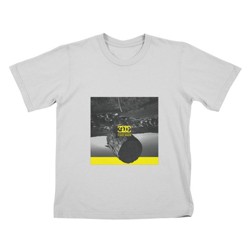 A Basic Wagon (Album Cover) Kids T-Shirt by iffopotamus