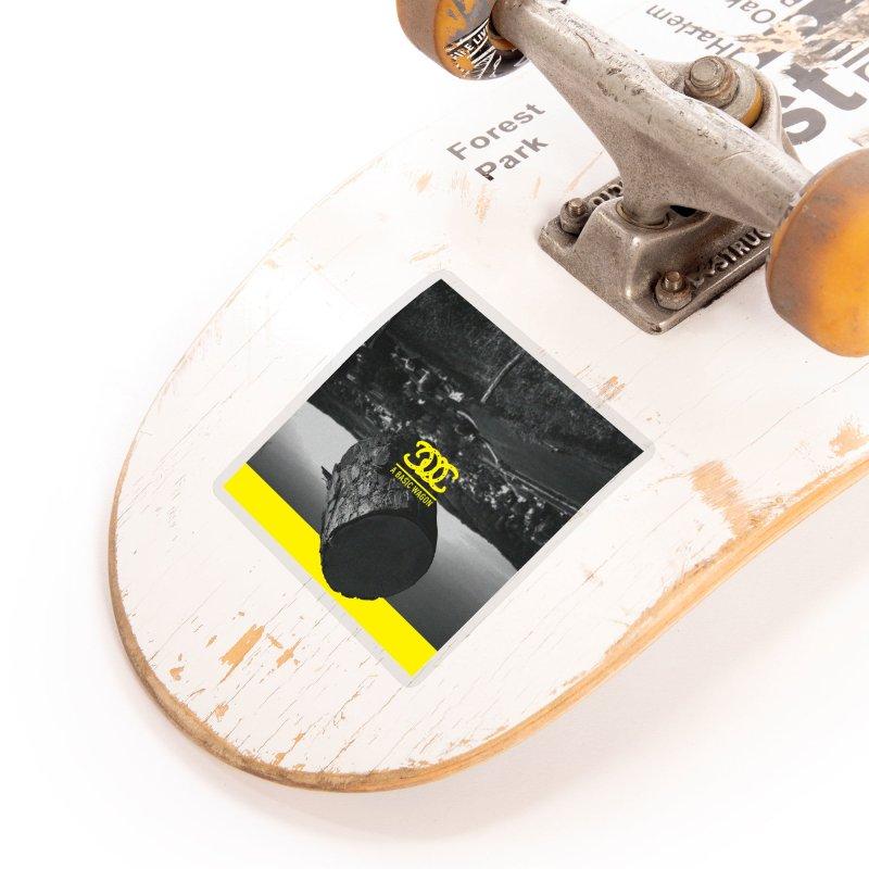 A Basic Wagon (Album Cover) Accessories Sticker by iffopotamus
