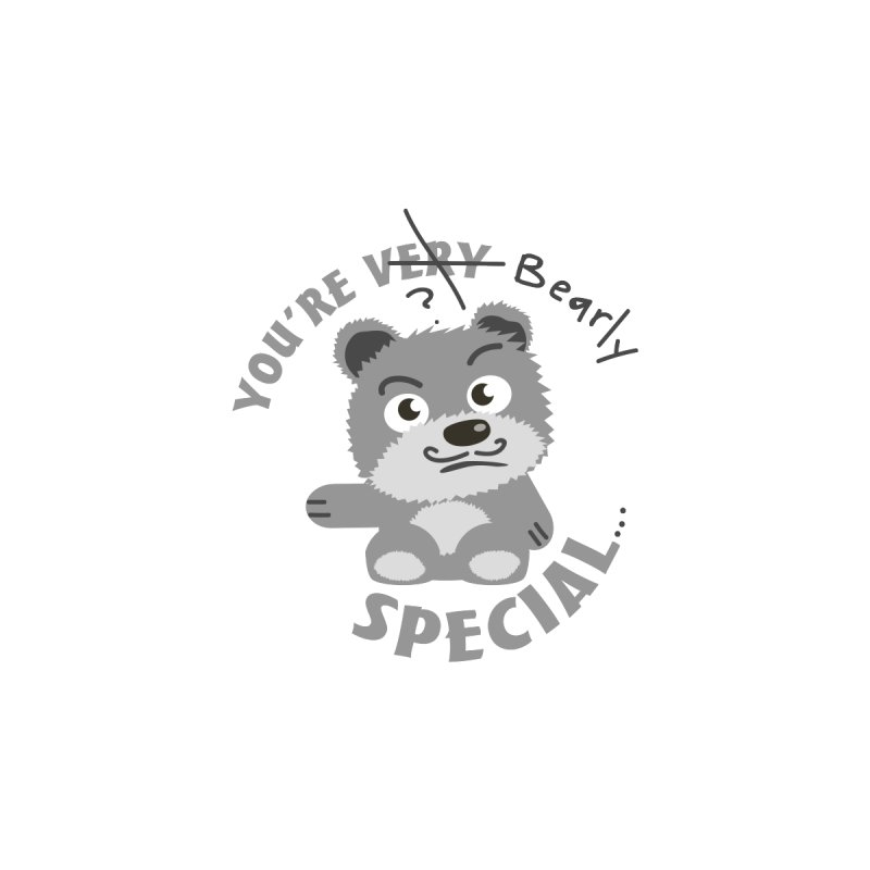 You're Bearly Special Men's T-Shirt by iffopotamus
