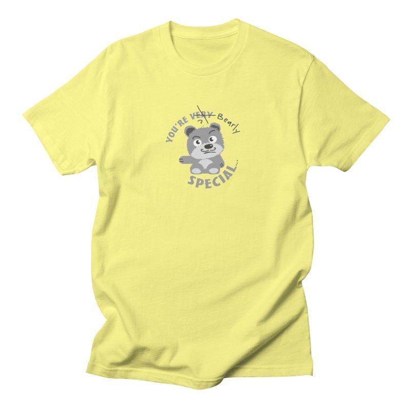 You're Bearly Special Men's T-Shirt by iffopotamus