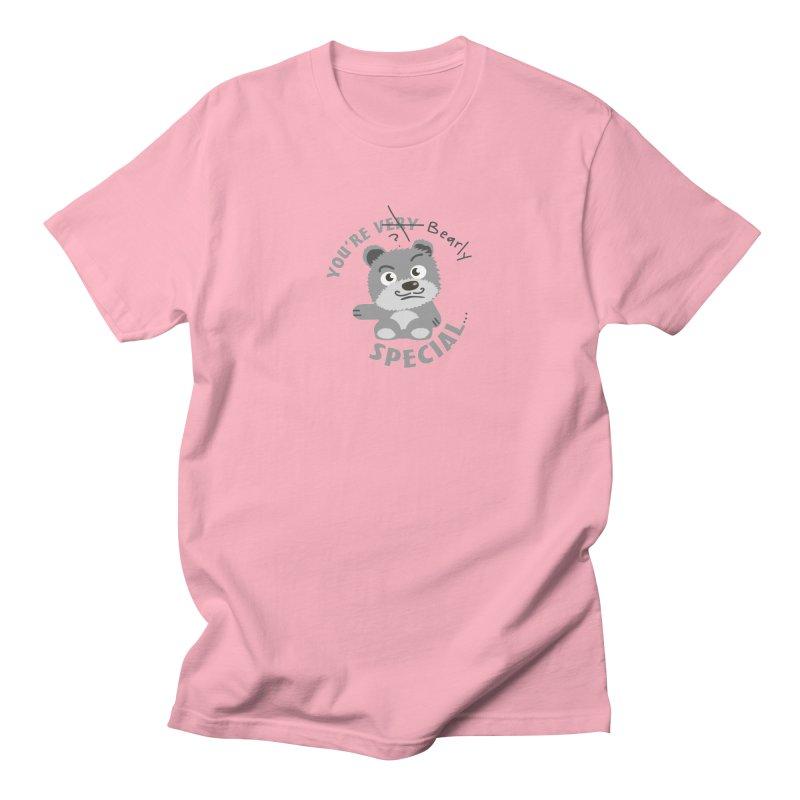 You're Bearly Special Men's Regular T-Shirt by iffopotamus