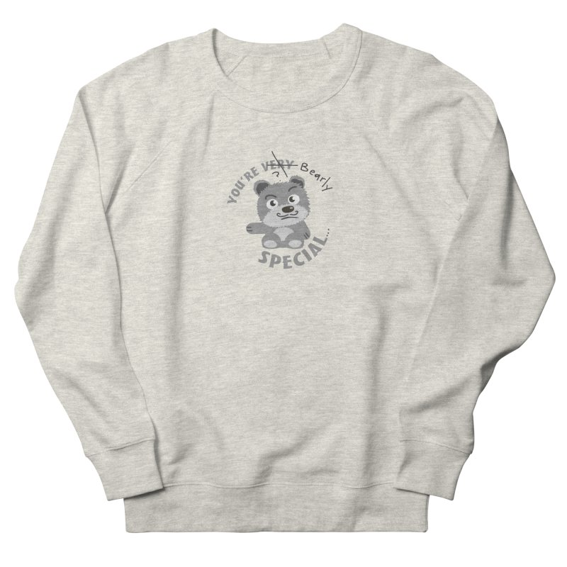 You're Bearly Special Men's French Terry Sweatshirt by iffopotamus