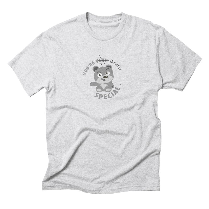 You're Bearly Special Men's Triblend T-Shirt by iffopotamus