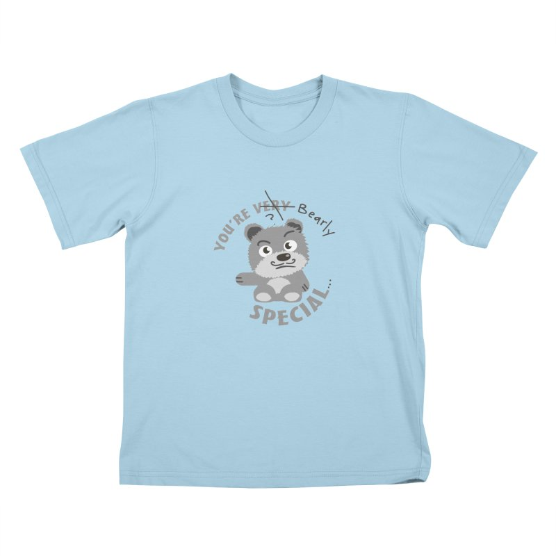You're Bearly Special Kids T-Shirt by iffopotamus