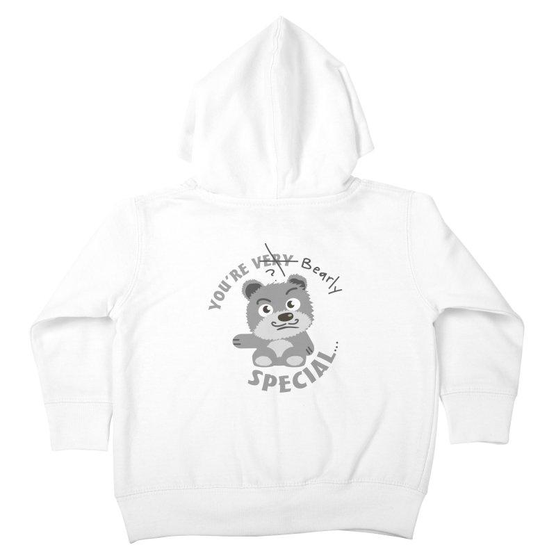 You're Bearly Special Kids Toddler Zip-Up Hoody by iffopotamus