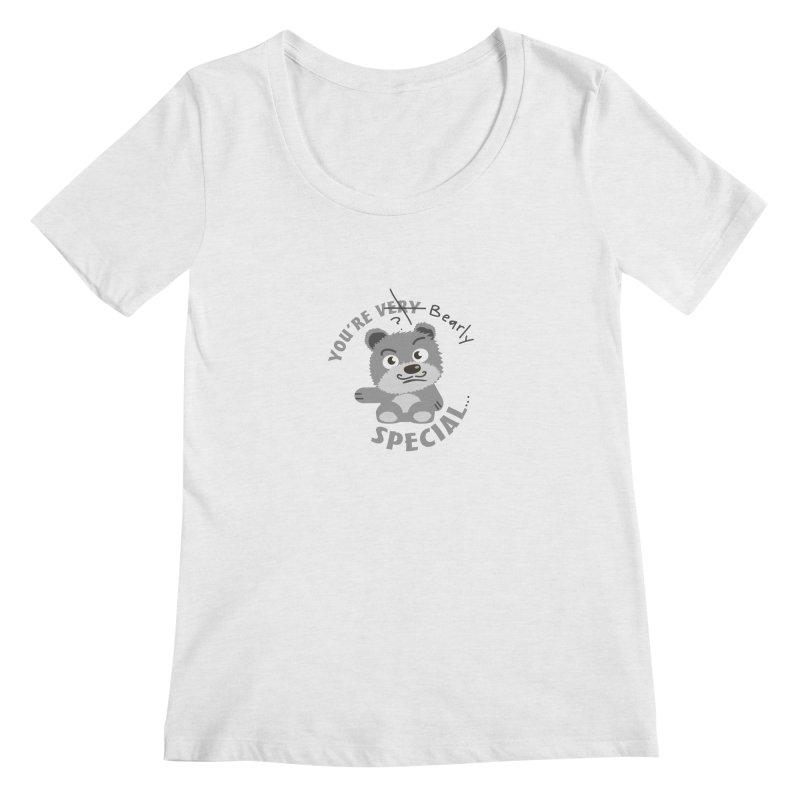 You're Bearly Special Women's Regular Scoop Neck by iffopotamus