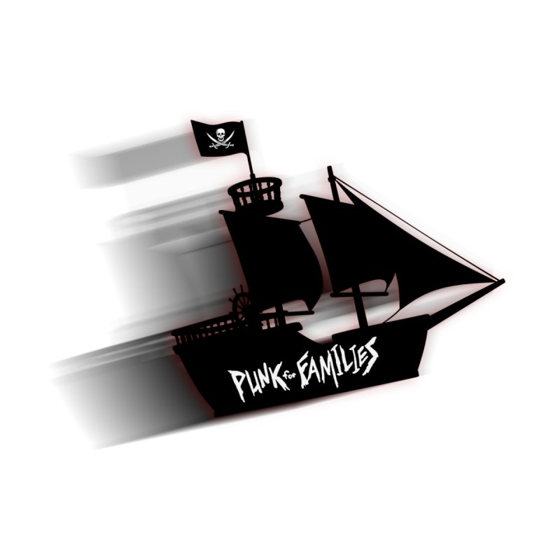 Punk for Families Pirate Ship Accessories Sticker by iffopotamus