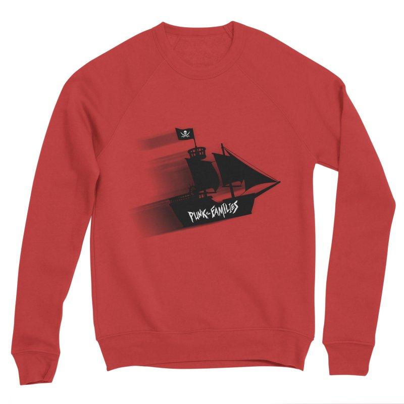 Punk for Families Pirate Ship Men's Sweatshirt by iffopotamus