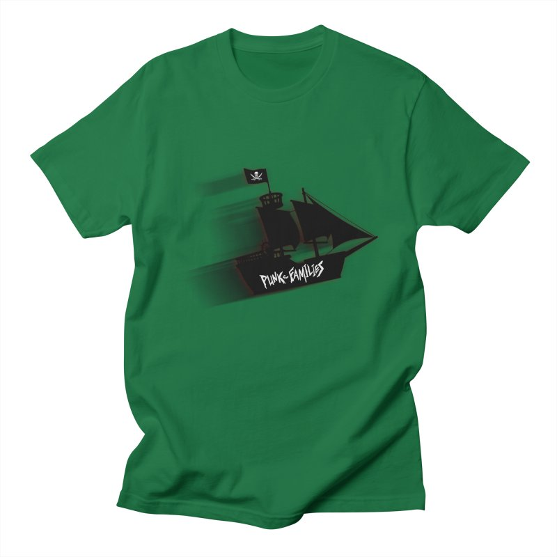 Punk for Families Pirate Ship Men's T-Shirt by iffopotamus