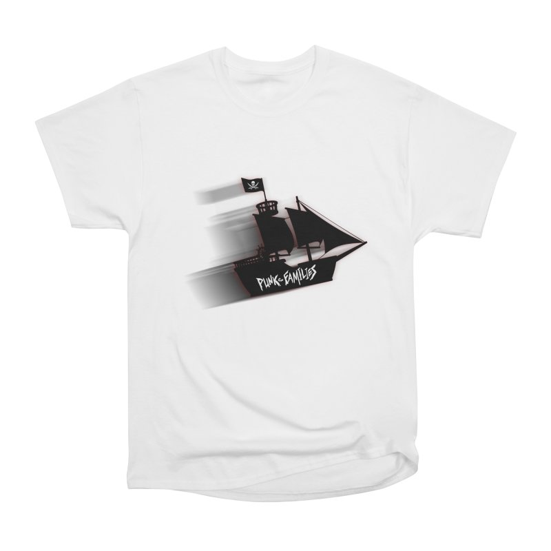 Punk for Families Pirate Ship Women's Heavyweight Unisex T-Shirt by iffopotamus