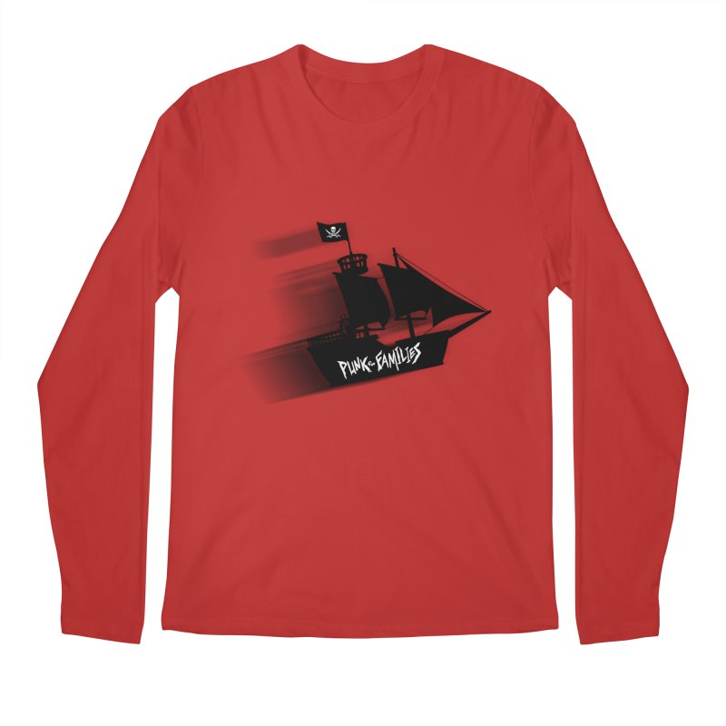 Punk for Families Pirate Ship Men's Longsleeve T-Shirt by iffopotamus