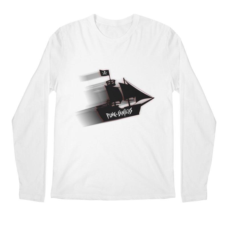 Punk for Families Pirate Ship Men's Regular Longsleeve T-Shirt by iffopotamus