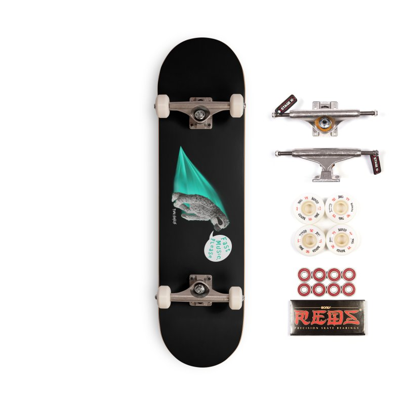 Fast Music Please Accessories Complete - Pro Skateboard by iffopotamus