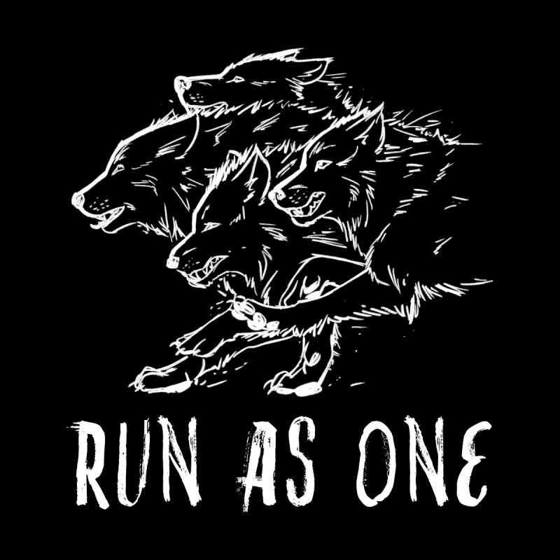 Run As One by igglypou's Artist Shop