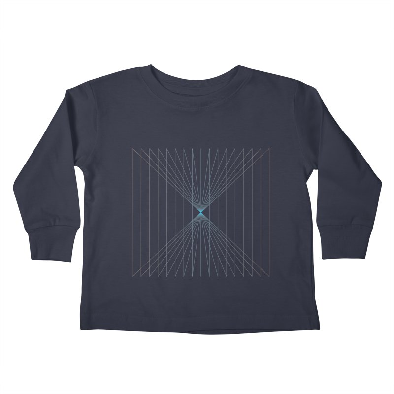 City Lines Kids Toddler Longsleeve T-Shirt by igloo's Artist Shop