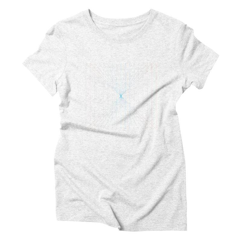 City Lines Women's Triblend T-shirt by igloo's Artist Shop