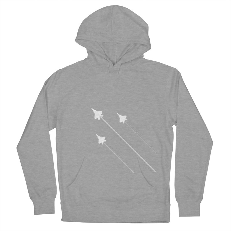 F22 Fighter Jets are coming! Women's Pullover Hoody by igloo's Artist Shop