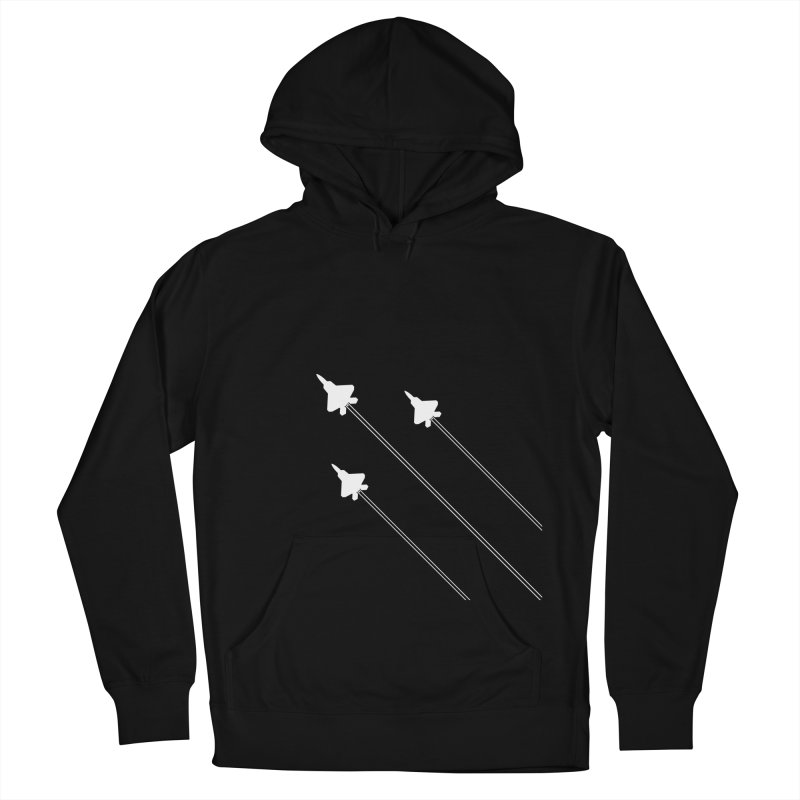 F22 Fighter Jets are coming! Men's Pullover Hoody by igloo's Artist Shop