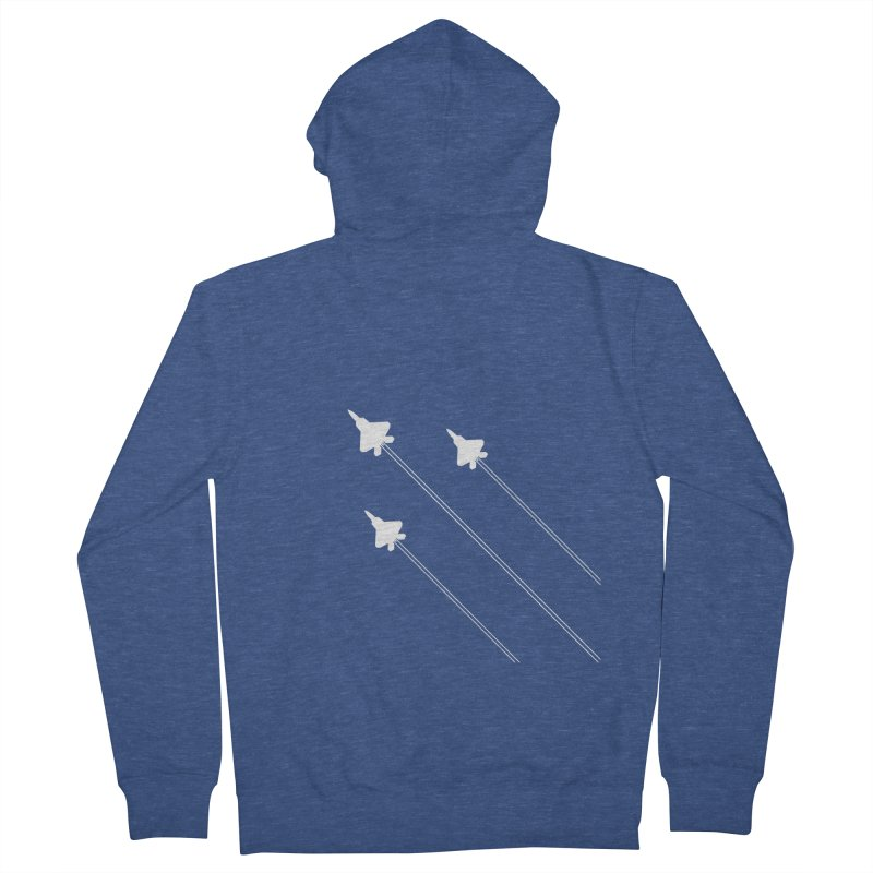 F22 Fighter Jets are coming! Women's Zip-Up Hoody by igloo's Artist Shop