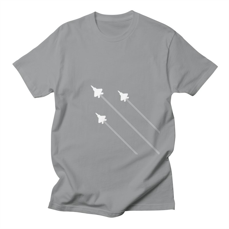 F22 Fighter Jets are coming! Men's T-Shirt by igloo's Artist Shop