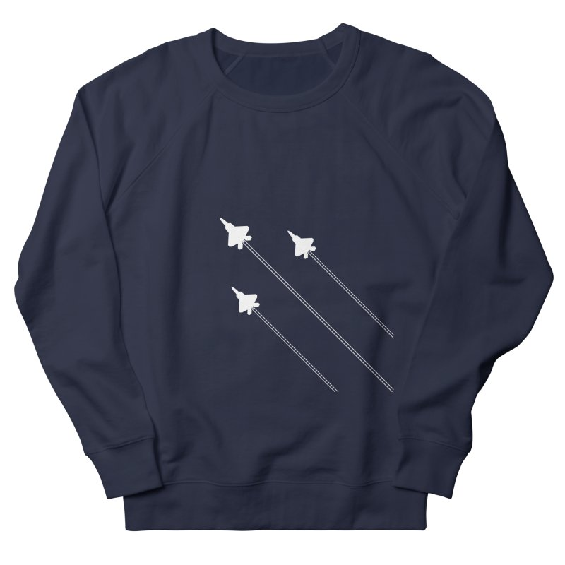 F22 Fighter Jets are coming! Men's Sweatshirt by igloo's Artist Shop