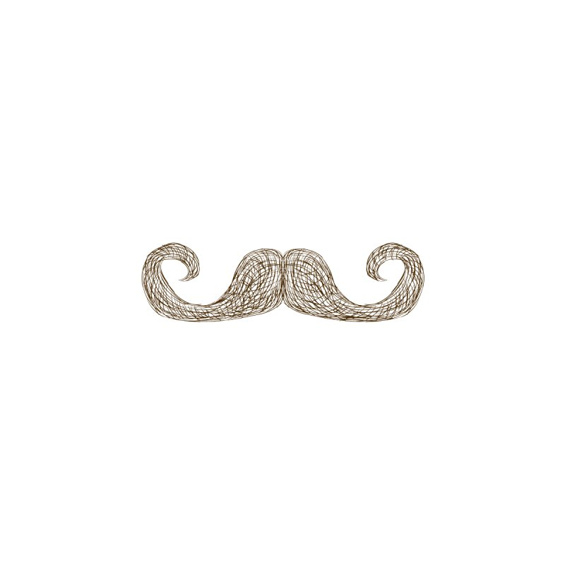 Moustache Inspector None  by igloo's Artist Shop