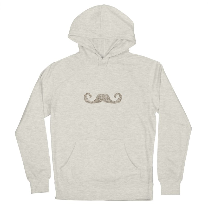 Moustache Inspector Women's Pullover Hoody by igloo's Artist Shop