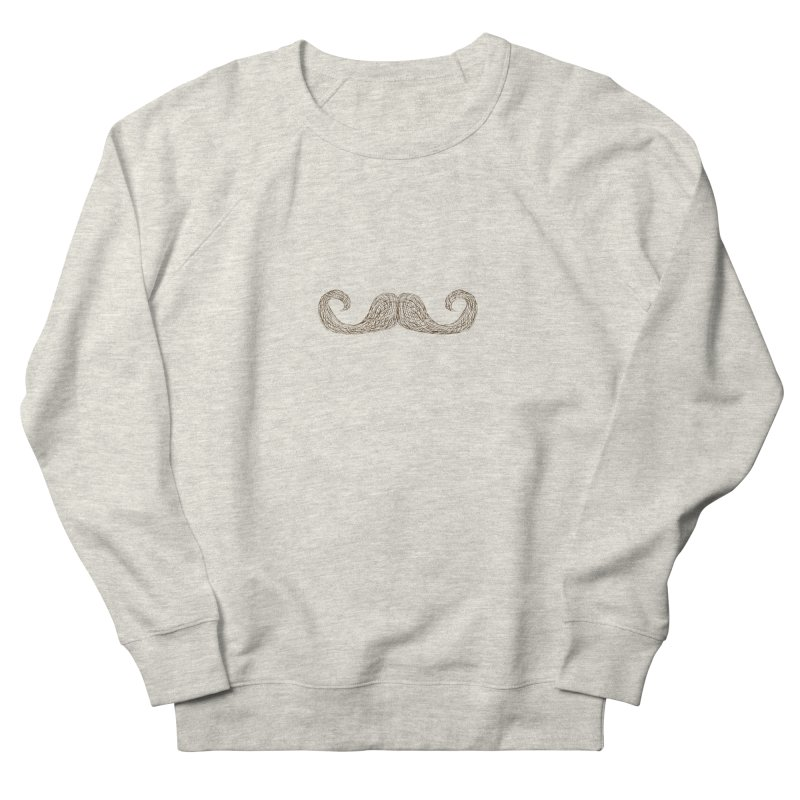 Moustache Inspector Women's Sweatshirt by igloo's Artist Shop