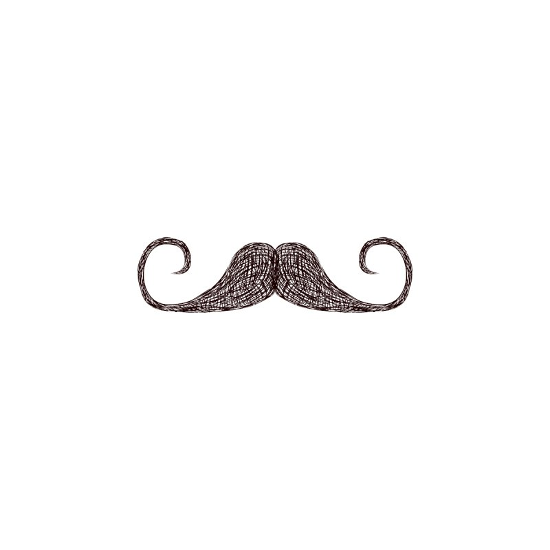 Mr Moustache None  by igloo's Artist Shop