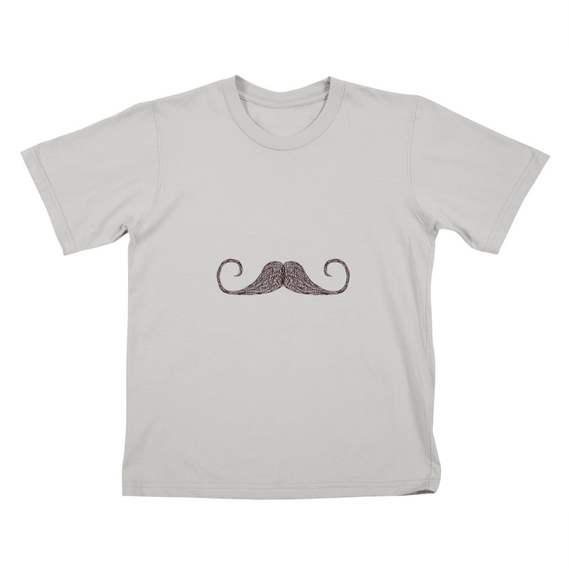 Mr Moustache Kids T-Shirt by igloo's Artist Shop