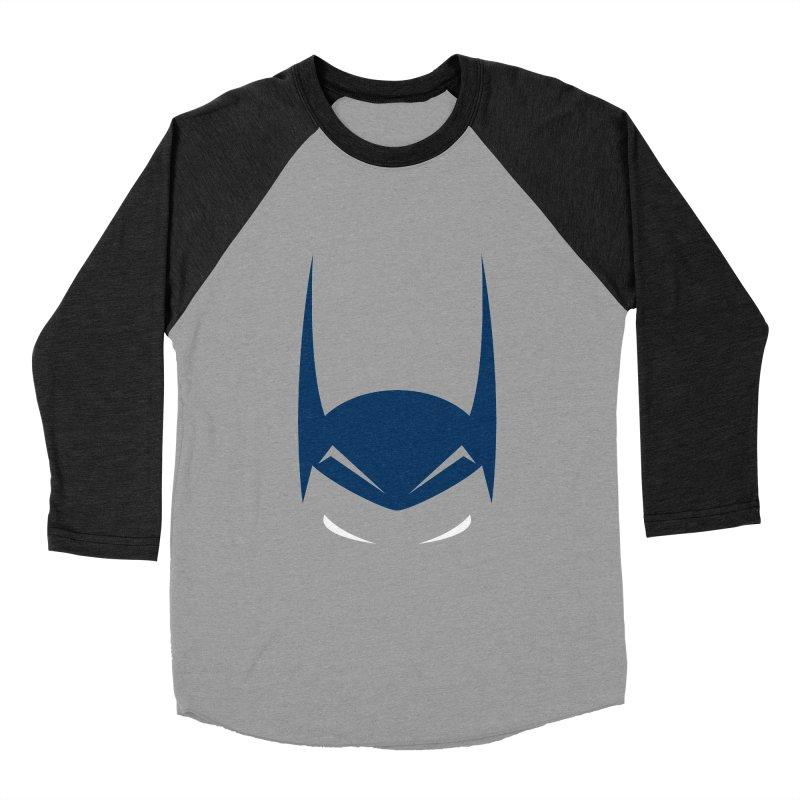 Bat Hat Men's Baseball Triblend T-Shirt by igloo's Artist Shop