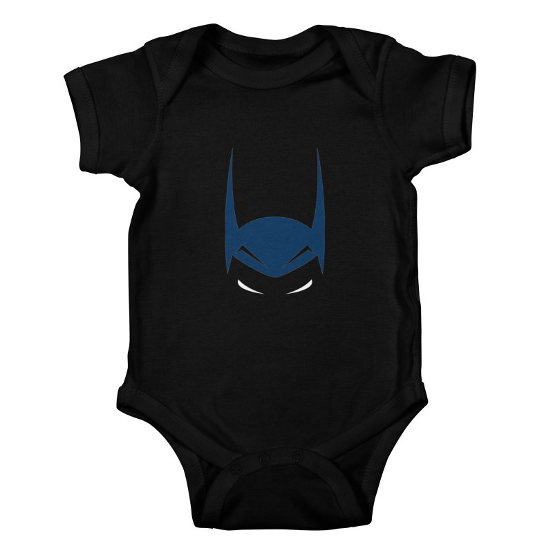 Bat Hat Kids Baby Bodysuit by igloo's Artist Shop