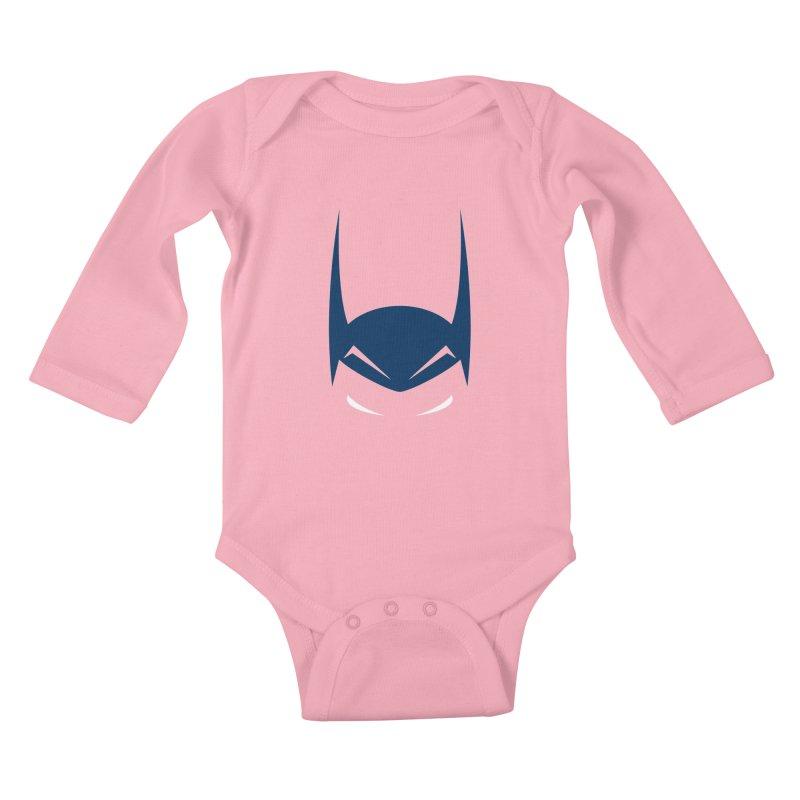 Bat Hat Kids Baby Longsleeve Bodysuit by igloo's Artist Shop