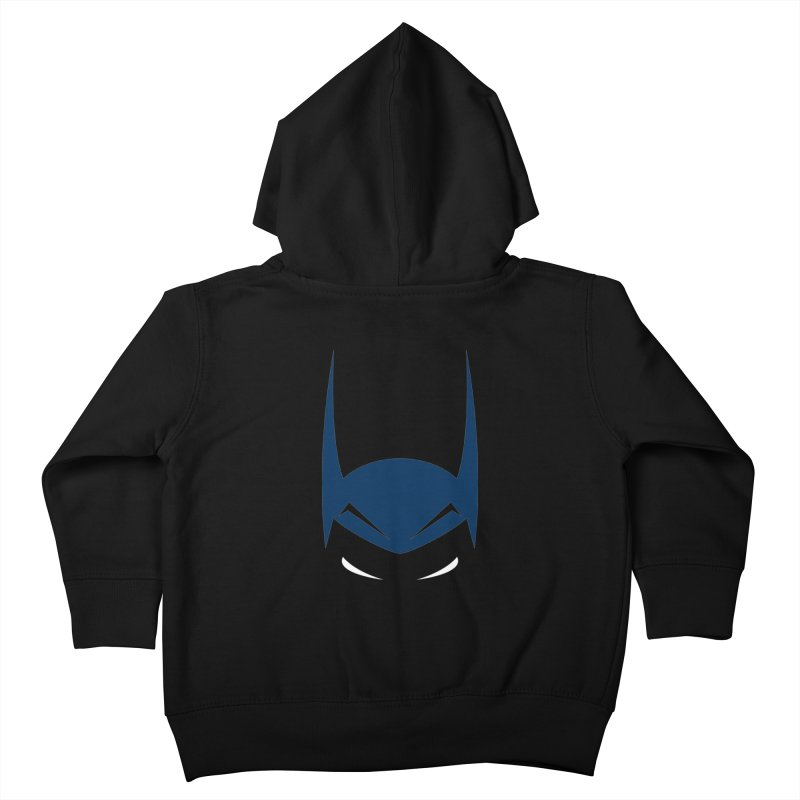 Bat Hat Kids Toddler Zip-Up Hoody by igloo's Artist Shop