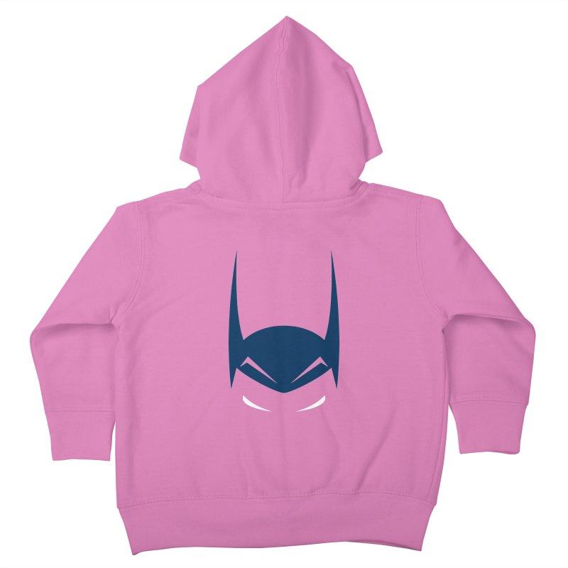 Bat Hat Kids Toddler Zip-Up Hoody by igloo's Artist Shop