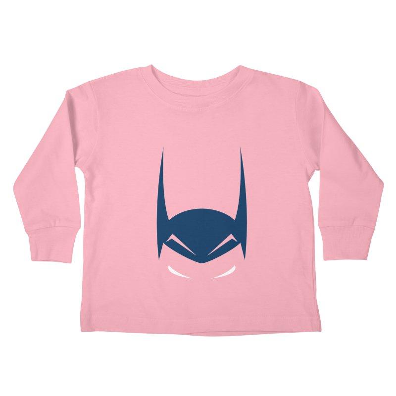 Bat Hat Kids Toddler Longsleeve T-Shirt by igloo's Artist Shop