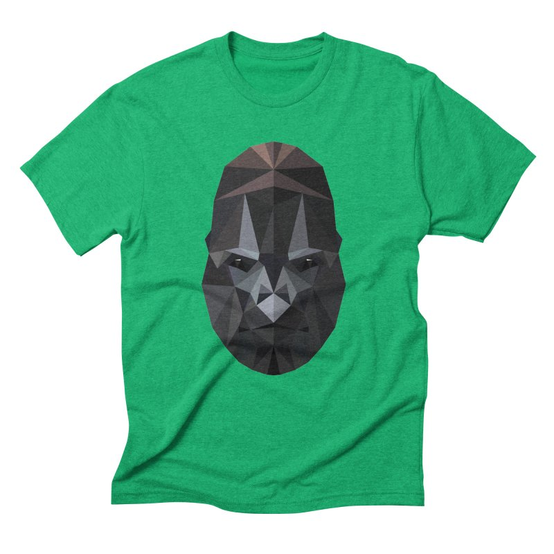 Gorilla Men's Triblend T-Shirt by igloo's Shiny Things