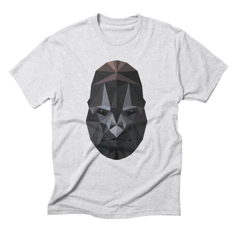 Gorilla Men's Triblend T-Shirt by igloo's Shiny Things