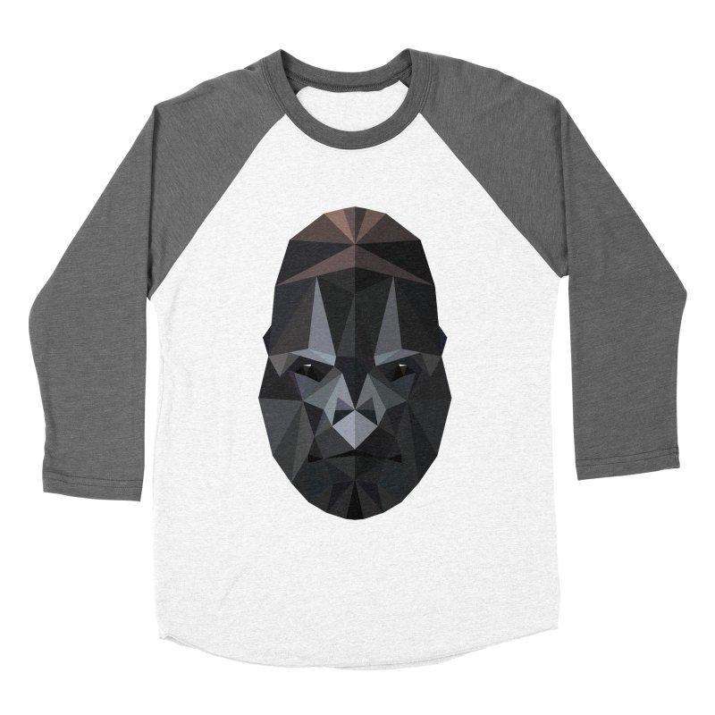 Gorilla Women's Baseball Triblend T-Shirt by igloo's Shiny Things