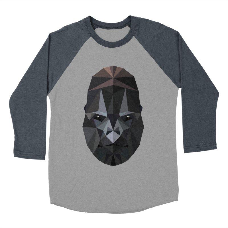 Gorilla Men's Baseball Triblend T-Shirt by igloo's Shiny Things