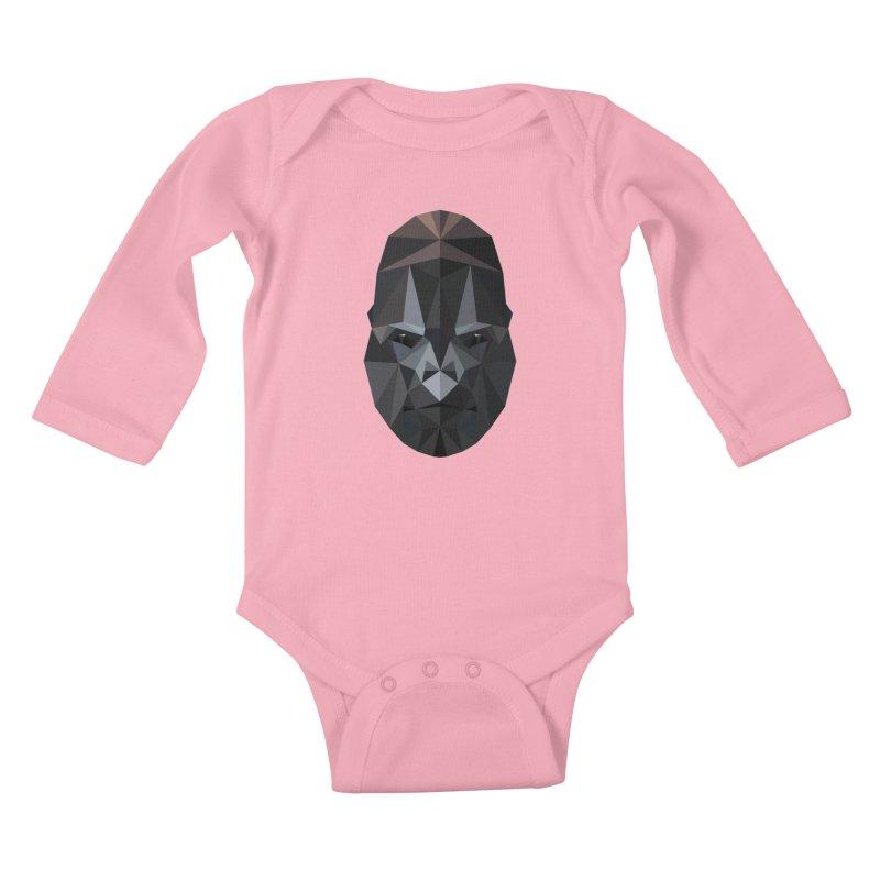 Gorilla Kids Baby Longsleeve Bodysuit by igloo's Shiny Things