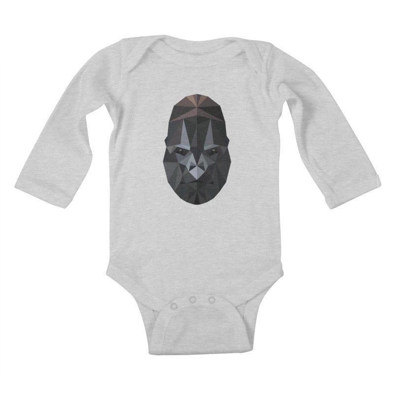 Gorilla Kids Baby Longsleeve Bodysuit by igloo's Shiny Things
