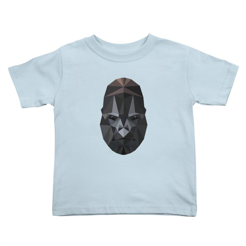 Gorilla Kids Toddler T-Shirt by igloo's Shiny Things