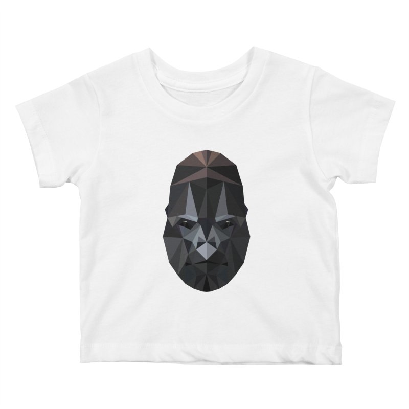 Gorilla Kids Baby T-Shirt by igloo's Shiny Things