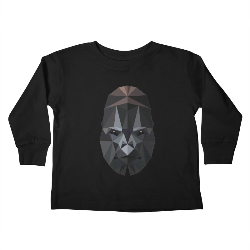 Gorilla Kids Toddler Longsleeve T-Shirt by igloo's Shiny Things
