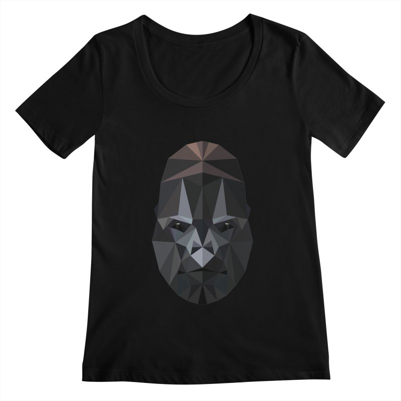 Gorilla Women's Scoopneck by igloo's Shiny Things