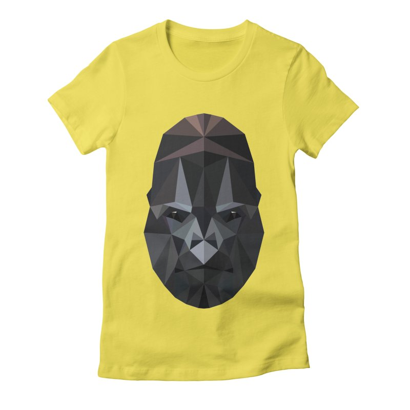 Gorilla Women's Fitted T-Shirt by igloo's Shiny Things