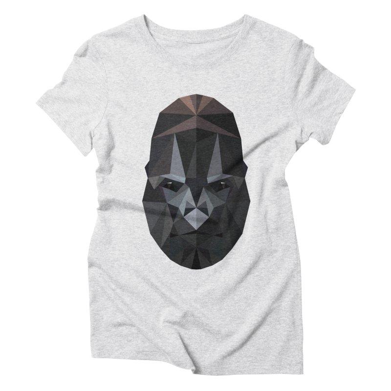 Gorilla Women's Triblend T-Shirt by igloo's Shiny Things